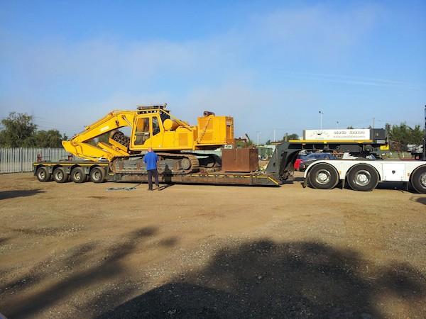 kobelco power pack flail excavator mulcher hire